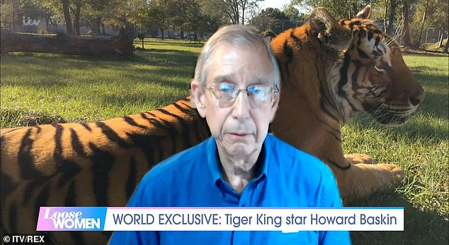 Shocking: Tiger King star Howard Baskin reveals that he and wife Carole were forced to carry a pistol in their car following Joe Exotic's death threats