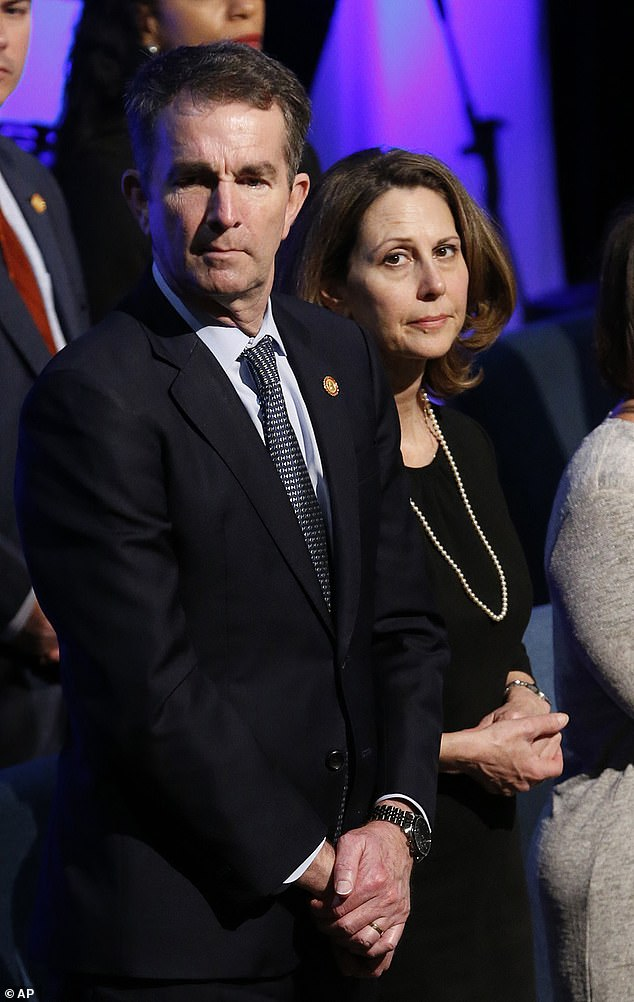 Northam is not showing any symptoms, and Pamela Northam is only suffering mild effects