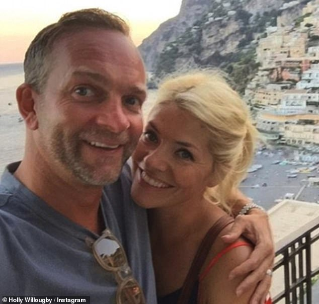 True love: Holly shares the five-bedroom Edwardian house with her husband Dan Baldwin, whom she married in 2007