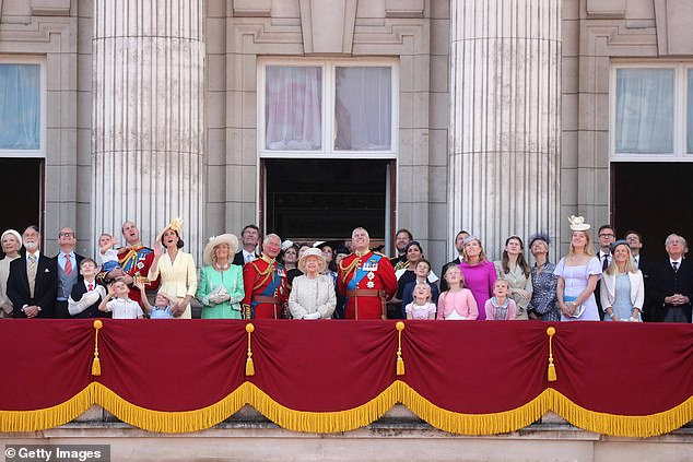 The British Royal Family (pictured on the balcony of Buckingham Palace last June) is better value for money than its European counterparts, study finds