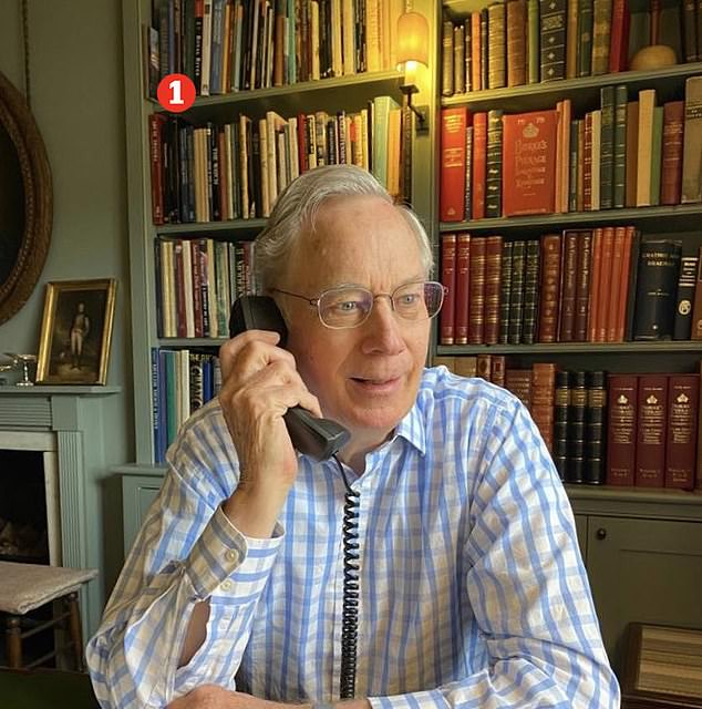 The 76-year-old Duke of Gloucester - Prince Richard ¿ (pictured) and his wife, Birgitte, 74, decided to downsize after their children moved away