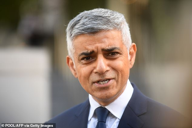 Sadiq Khan has urged the Prime Minister to outlaw house visits for nine million people in London as part of lockdown measures to tackle rising Covid-19 infections