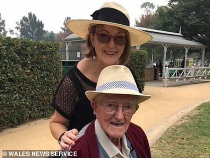 Pearl Findlay-James pictured with her father Patrick James