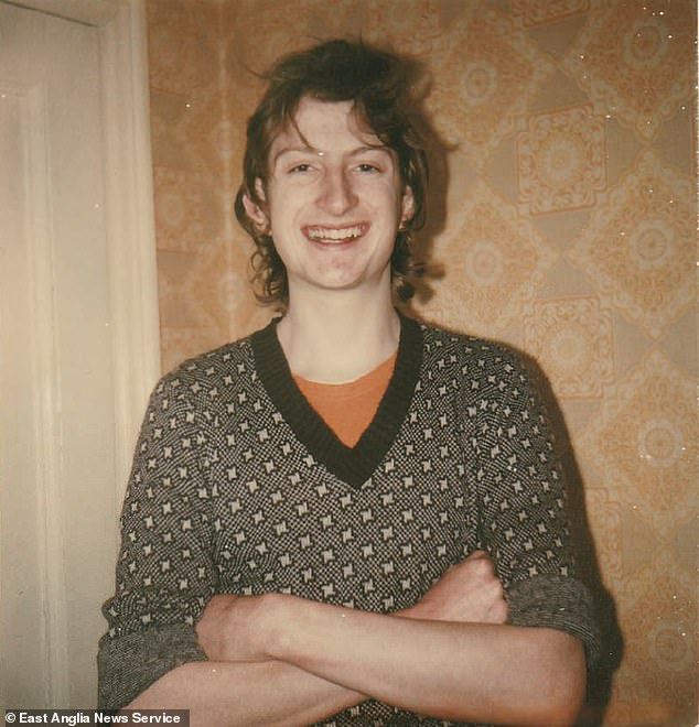 Kevin Dundon, 22 (pictured), went missing after he was seen washing dishes in the galley of the Townsend Thoresen ferry Viking Viscount on September 21, 1980