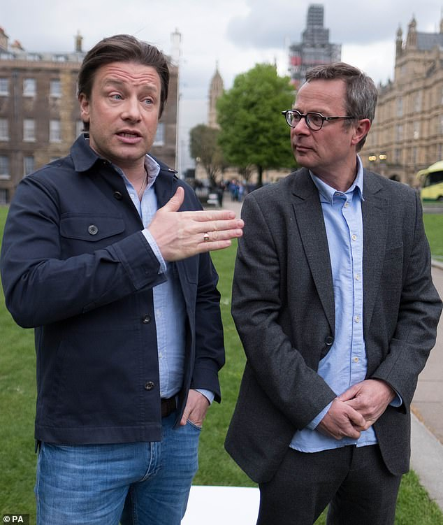 Chefs Jamie Oliver andHugh Fearnley-Whittingstalldemand assurances that 'lower-standard' meat, such as US-produced chlorinated chicken or hormone-fed beef, will not be sold in British stores or served in restaurants and canteens after we exit the EU's standards regime