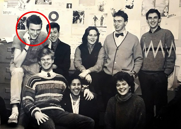 When I was editor, we ran regular exposés on the people who ran the students¿ union ¿ ardent Left-wingers who all seemed to become management consultants on graduation.Jeremy Vine is pictured far left with student journalists at Durham¿s Palatinate newspaper in 1984