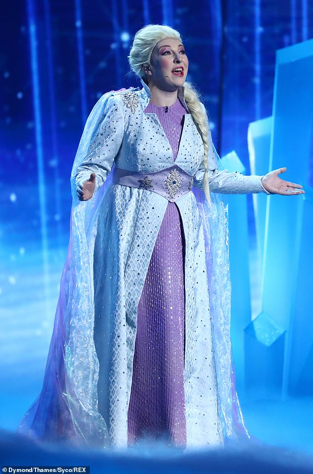 Let it go! After making several attempts at success on Britain's Got Talent, Katherine and Joe O'Malley were back with their Disney act to perform to Into the Unknown' from Frozen 2