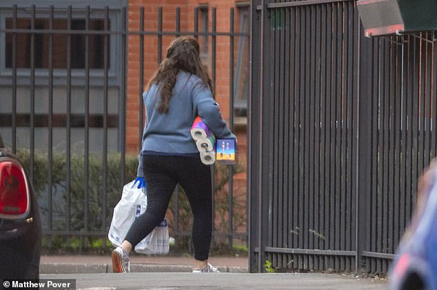 Supplies are delivered to students at Manchester Metropolitan University's Cambridge Halls