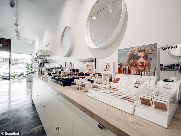Erin acknowledges that shopping purely online for beauty products is tough, so having and expanding a brick-and-mortar presence on James Street in Burleigh Heads was important to her