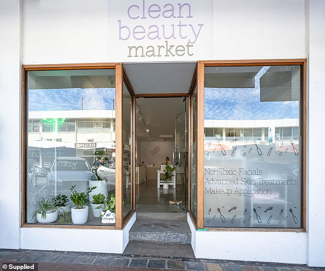 'It dawned on me that we didn't have an actual physical space to shop natural yet high-performance brands in Australia,' Erin said