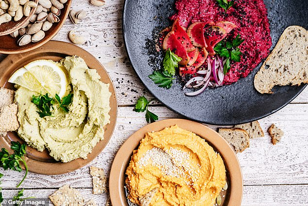 The former MasterChef judge, 59, said 'great hummus should never be grainy from undercooked chickpeas, or bitter from old or cheap tahini', he told Delicious magazine