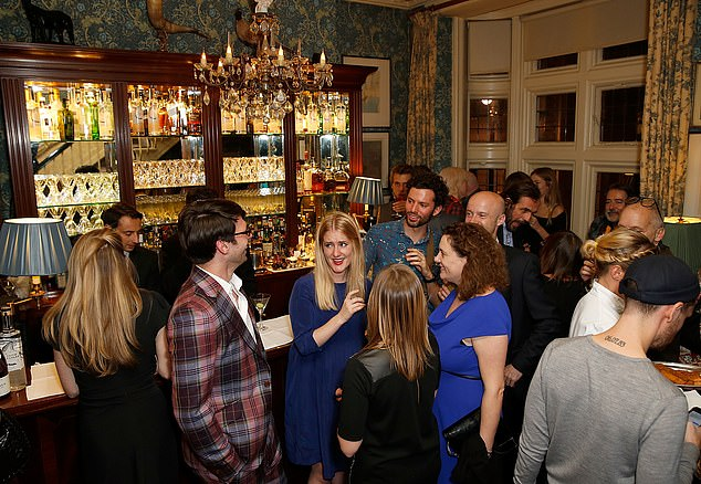 Mark's Club hosted the Vivienne Westwood Autobiography Launch on October 7, 2014 (pictured)