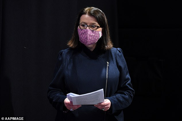 Jenny Mikakos resigned from parliament on Friday, just 24 hours after Mr Andrews told an inquiry she was 'accountable' for the hotel quarantine program