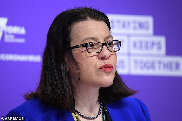 Jenny Mikakos said shecannot continue to serve in Mr Andrews' cabinet in a statement on Twitter