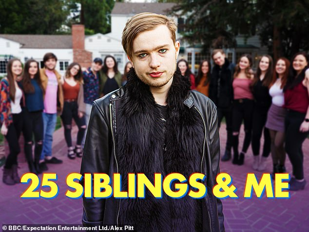 Oli's story features in BBC show 25 Siblings And Me which airs next month