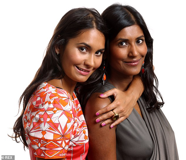 Ruby urged Martin to have a discussion about fertility before agreeing to get married. Pictured: Ruby and her daughter Reena