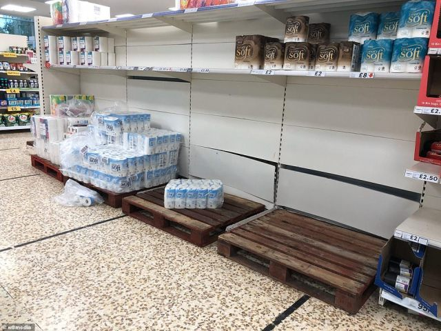 Shops have brought in extra stocks of flour to see fans of The Great British Bake Off through potential outbreaks of lockdown panic buying