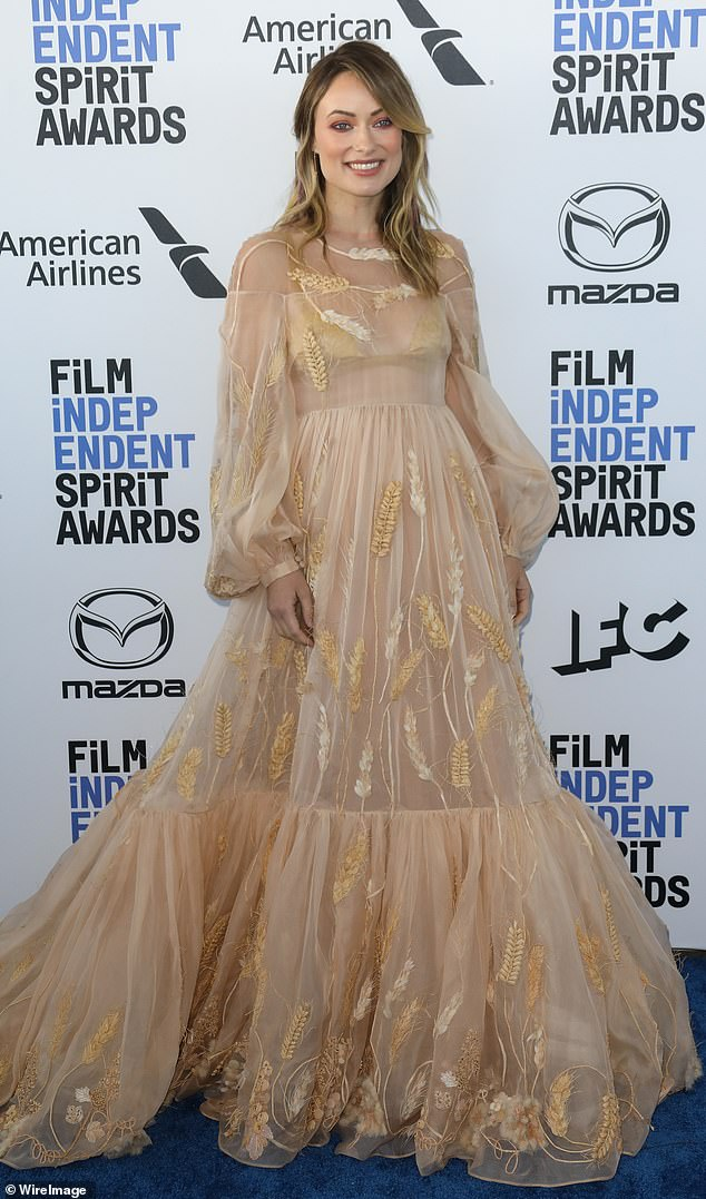 In demand: Wilde, pictured in February, garnered critical acclaim for her 2019 feature directorial debut Booksmart and has just been tapped to make a Marvel movie for Sony