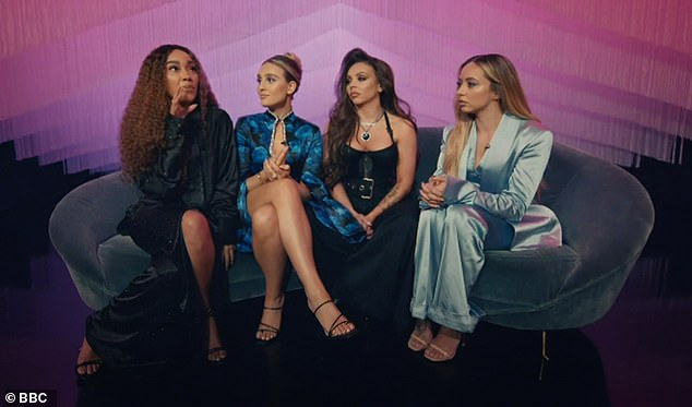 Glam: Little Mix kicked of their talent show on Saturday but ratings figures are said to show it hasn't had as many viewers as anticipated, receiving 1.9m on its debut