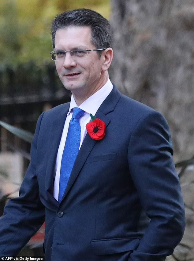 Tory MP Steve Baker (pictured), who plans to rebel against Mr Johnson said Britons were no longer living like free people due to the restrictions