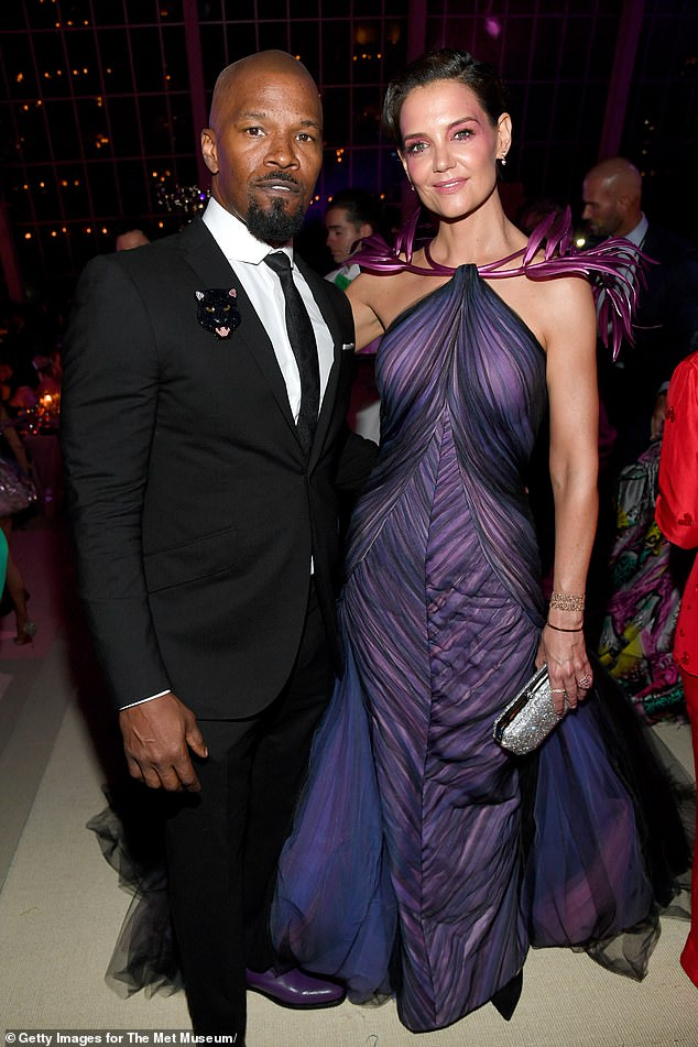 His budding romances comes a year after parting ways with his ex-girlfriend Katie Holmes,