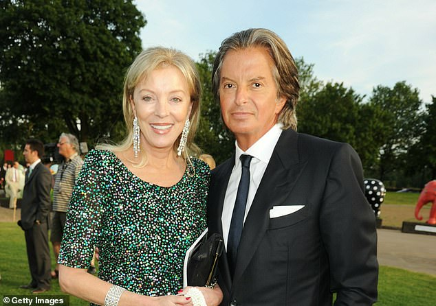 Richard Caring (right), the owner of the Ivy, Annabel¿s and Le Caprice, has said the situation for the country now looks ¿super bleak¿