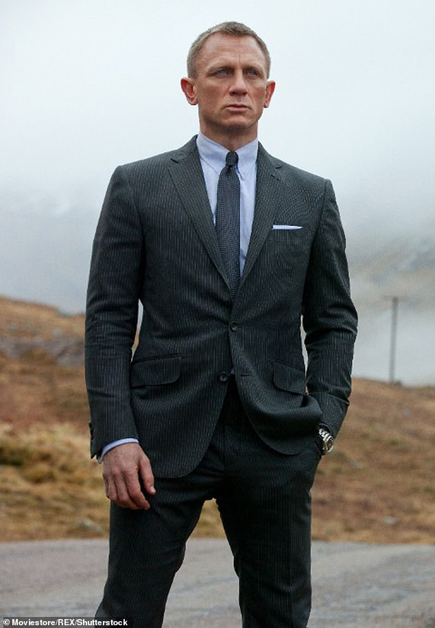 Stepping down:Henry lost out on the role of Bond to Daniel Craig (pictured, 2012) when he did a screen-test for the role