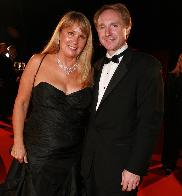 Dan Brown (right), who wrote literary hit The Da Vinci Code, divorced his wife of 21 years, Blythe Newlon (left), last year and she has since sued him, accusing him of having a string of affairs