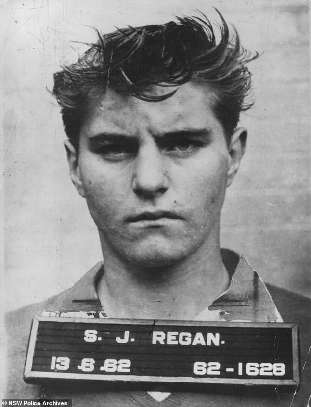 At the time of Robert Donnelly's disappearance he was running with some very dangerous men including Johnny Regan, known as 'The Magician' for his ability to make people disappear. Regan (pictured) was one of the most fearsome criminals Australia has ever produced