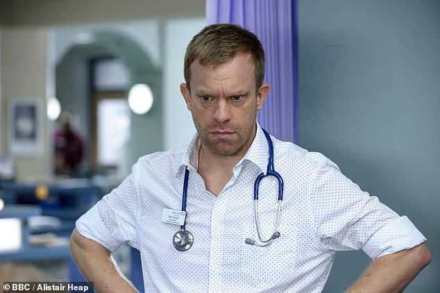 Casualty has shown few more distressing scenes than the nightmare of Dr Dylan and the steamed up mask