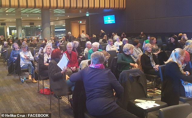 On August 6, 200 people gathered at the Adelaide Oval convention centre for the Liberal Women's Council annual general meeting, back when weddings and funerals were restricted to 100 people