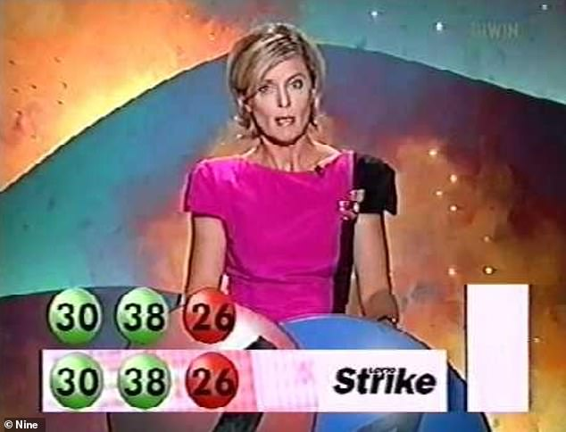 Travel lover: The TV star also recalled juggling motherhood with her success on Lotto in the nineties [pictured], admitting that she would use all her free time to take her children camping and on 'good hands-on holidays'