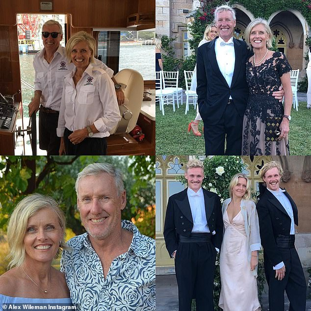 'We have swim dates at 6 am': With this year's COVID-19 outbreak, Alex has been enjoying the slower pace of life with her 'down-to-earth and funny' husband Jamie, who she has been married to for 34 years