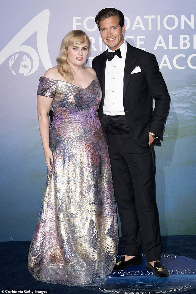 Going public: While the couple is yet to address their fledgling relationship, they made headlines last week when they debuted their romance in Monaco. Pictured together atthe Monte-Carlo Gala For Planetary Health on Thursday