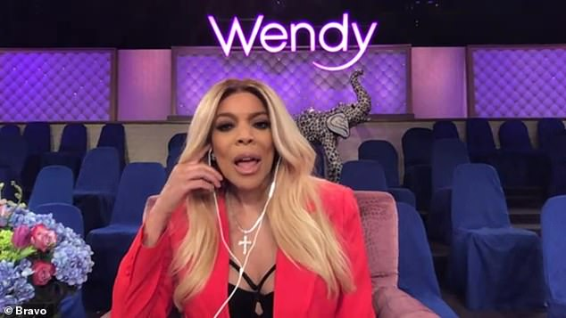 Just friends:'I haven't been seeing a new man on Instagram. I've been showing you pictures of me with friends and when I do find the man-man, he will not be on my Instagram. That is one thing I will not be doing,' Wendy said