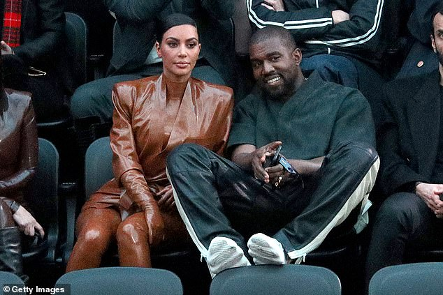 Unmasked opinions: WWHL live host Andy Cohen asked Wendy for her thoughts on Kanye West, shown with wife Kim Kardashian in March in Paris, running for president and the end of KUWTK
