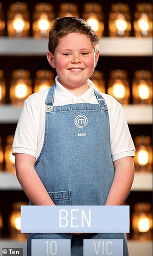From October 11! The contestants, aged between nine and 14 years, will vie for the top spot as best aspiring chef on junior MasterChef Australia. Pictured: Filo (top left), Phenix (top right), Tiffany (bottom left) and Ben (bottom right)
