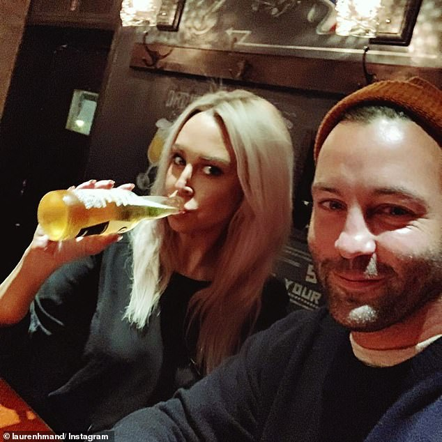 Next step? Last month, Lauren hinted the pair could be getting engaged after writing she had 'big news' after spending time with Jimmy in lockdown