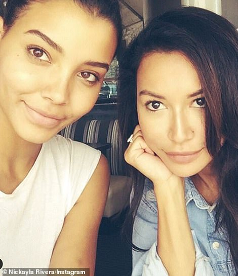 Nickayla is pictured in a previous Instagram post with Naya
