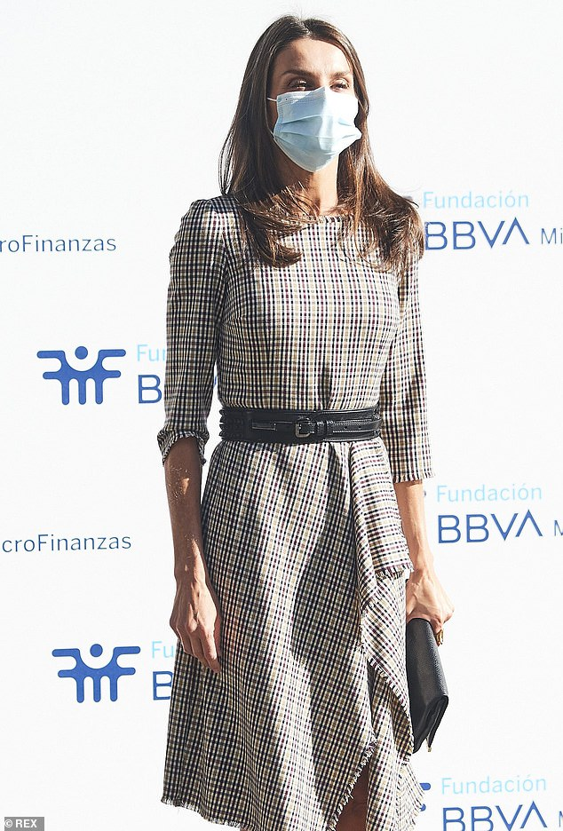 Letizia (pictured) raised concerns for the millions of vulnerable people who've been impacted by the pandemic