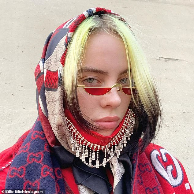 Surprise! Five-time Grammy winner Billie Eilish announced to her 125.3M social media following on Monday that she will star in a documentary film titled The World's a Little Blurry (pictured September 10)