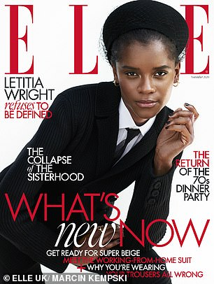 Available now: Read Letitia's full interview in Elle UK's November issue