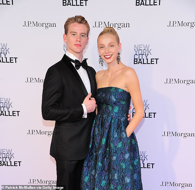 Former NYCB student dancer Alexandra Waterbury (right) made the stark allegations against the ballet company and her ex-boyfriend and principal dancer Chase Finlay (left) in September 2018