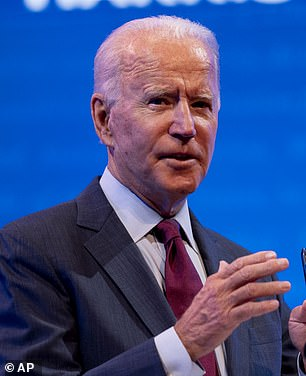 Democrat Joe Biden