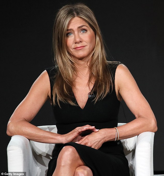 Jennifer Aniston said in a 2019 Radio Times interview that she only eats between noon and 8pm. New research suggests her intermittent fasting diet does not work (file)