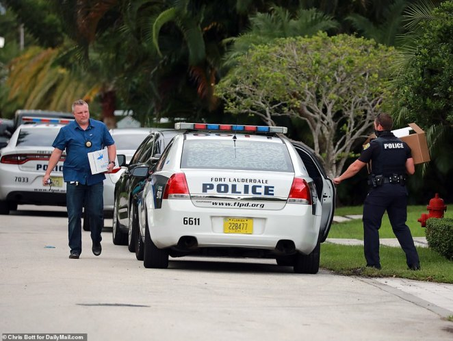 Cops seized an array of weapons from Brad Parscale's home last night, DailyMail.com can reveal