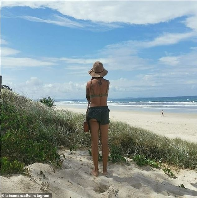 Tyagarah Beach (pictured) is a popular spot north of Byron Bay on the NSW far north coast where clothing is optional