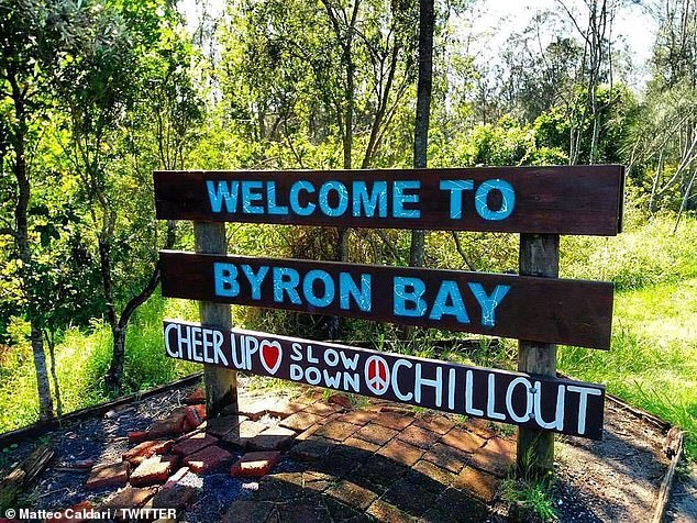 Tyagarah Beach is 14 kilometres north of tourist hotspot Byron Bay. Queensland will reopen its border to NSW far north coast residents from 1am Thursday