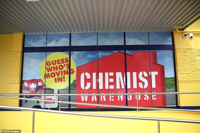 Jack Gance co-founded the Chemist Warehouse (store pictured) empire withMario Verrocchi in 2000 and now has 400 stores across Australia and New Zealand