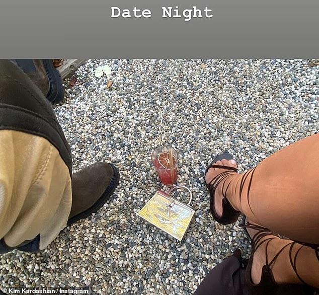 More fun:On Saturday, Kim posted about the couple's additional 'Date Night' on her Insta Stories